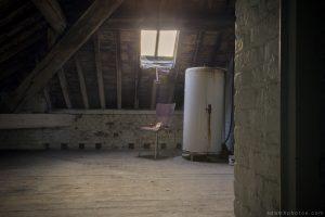 Villa Directeur - attic