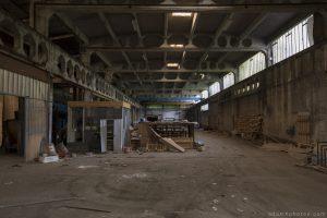 Entrepôt de Bangers - hangar two.