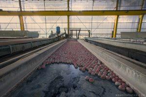 Entrepôt de Bangers - acid treatment works