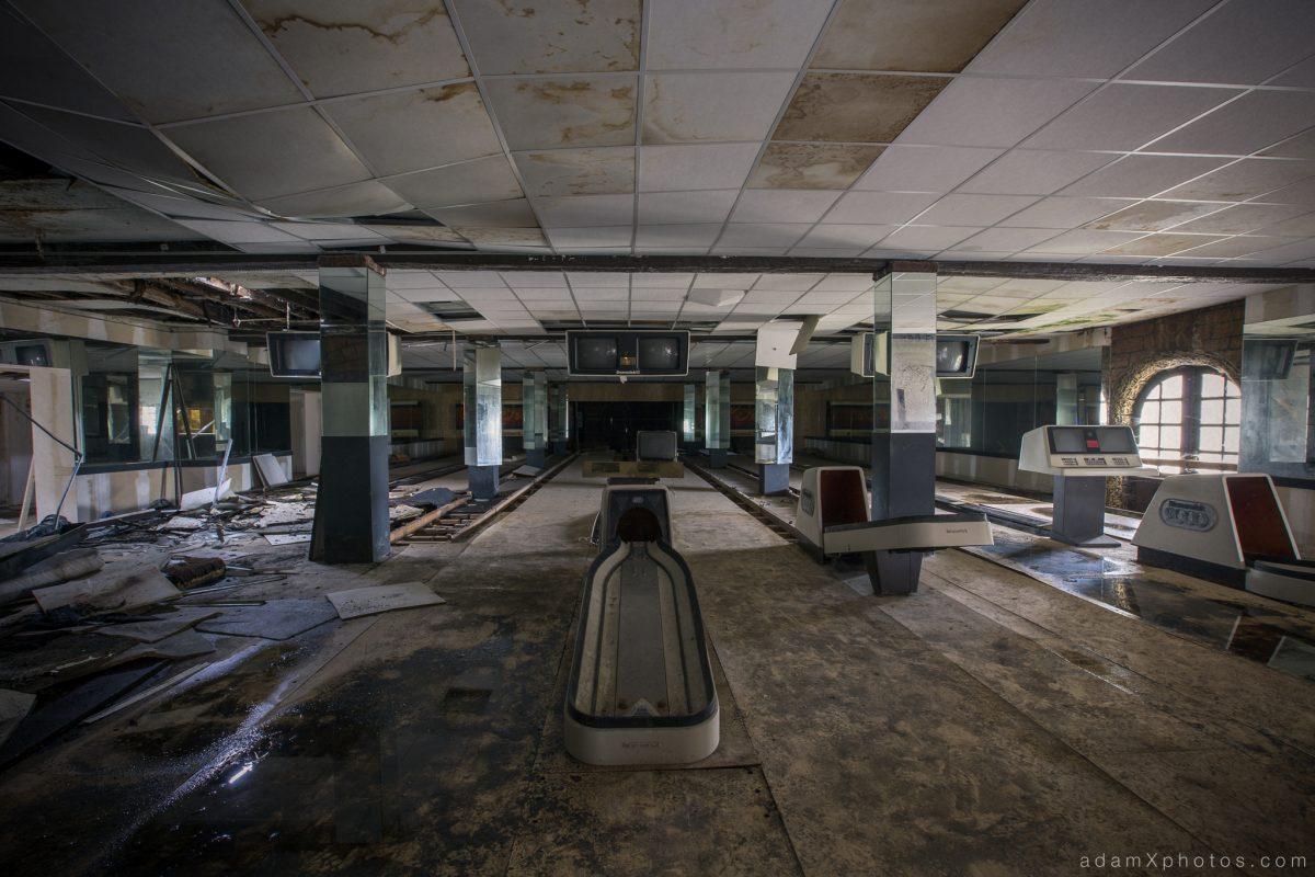 Bowling Alley Urbex Belgium