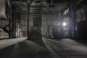 Urbex Urban Exploration Powerplant Gigawatt XL Cloud Factory machinery