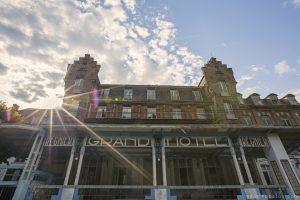 Adam X Urbex Urban Exploration Grand Hotel Regnier external front Belgium