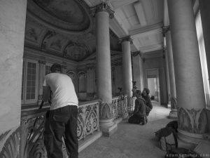 Adam X Alla Italia Belgium Urbex Urban Exploration explorers action shot