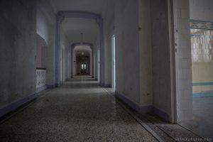 Adam X Alla Italia Belgium Urbex Urban Exploration corridor
