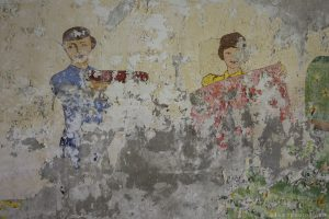 Adam X Urbex Urban Exploration Abandoned Germany Wunsdorf barracks mural wall soviet detail painting
