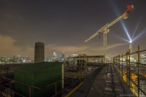 New year's years eve 2014 2015 Adam X Urbex UE Urban Exploration London Rooftops High Night Photo Photography Skyline THM crane south bank thames shard walkie talkie st pauls cathedral