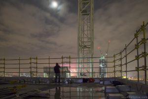Selfie Fireworks New year's years eve 2014 2015 Adam X Urbex UE Urban Exploration London Rooftops High Night Photo Photography Skyline THM crane south bank thames