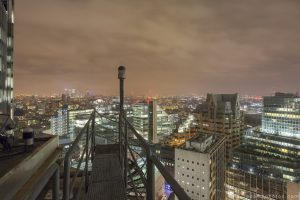 Rooftop L New year's years eve 2014 2015 Adam X Urbex UE Urban Exploration London Rooftops High Night Photo Photography Skyline stairs