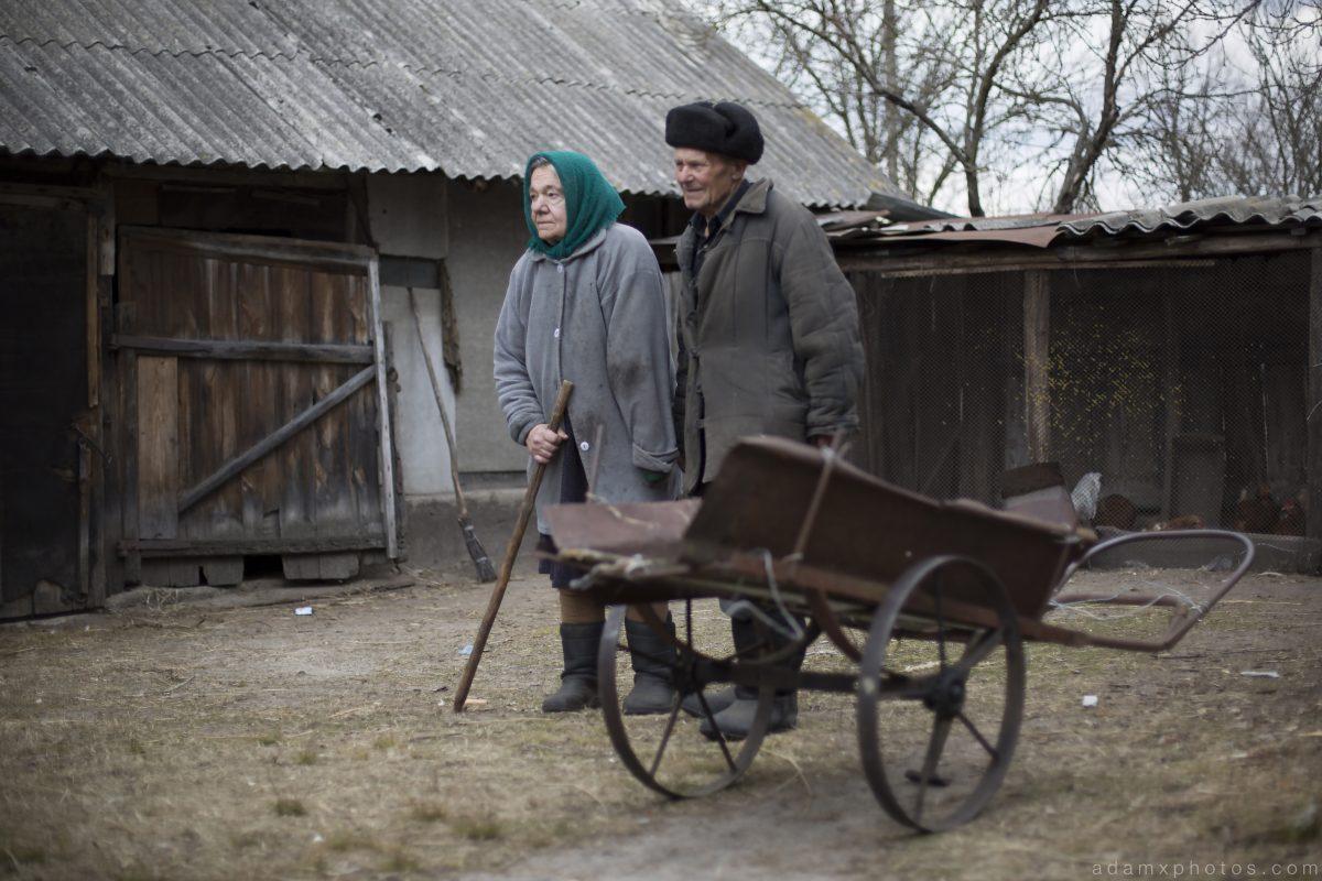 Maria and Ivan Ivanovitch Paryshiv village Chernobyl Pripyat Urbex Adam X Urban Exploration 2015 Abandoned decay lost forgotten derelict
