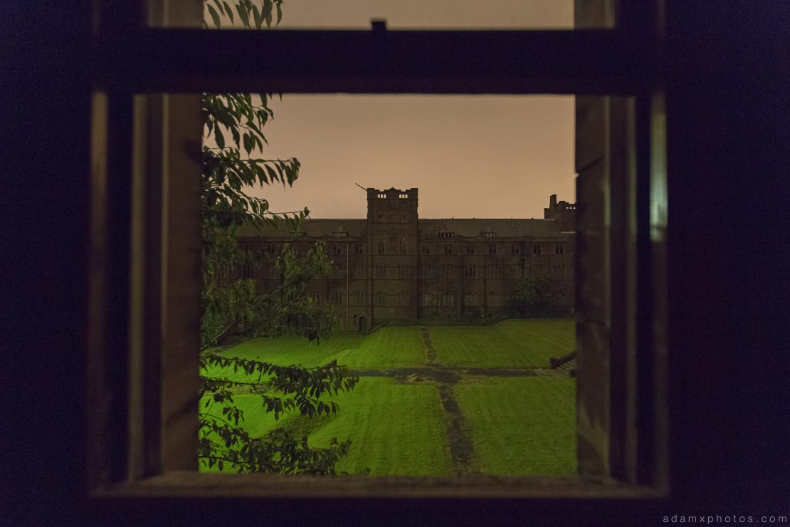 Night nighttime camping St Joseph's Seminary Joe's Upholland Urbex Adam X Urban Exploration 2015 Abandoned decay lost forgotten derelict