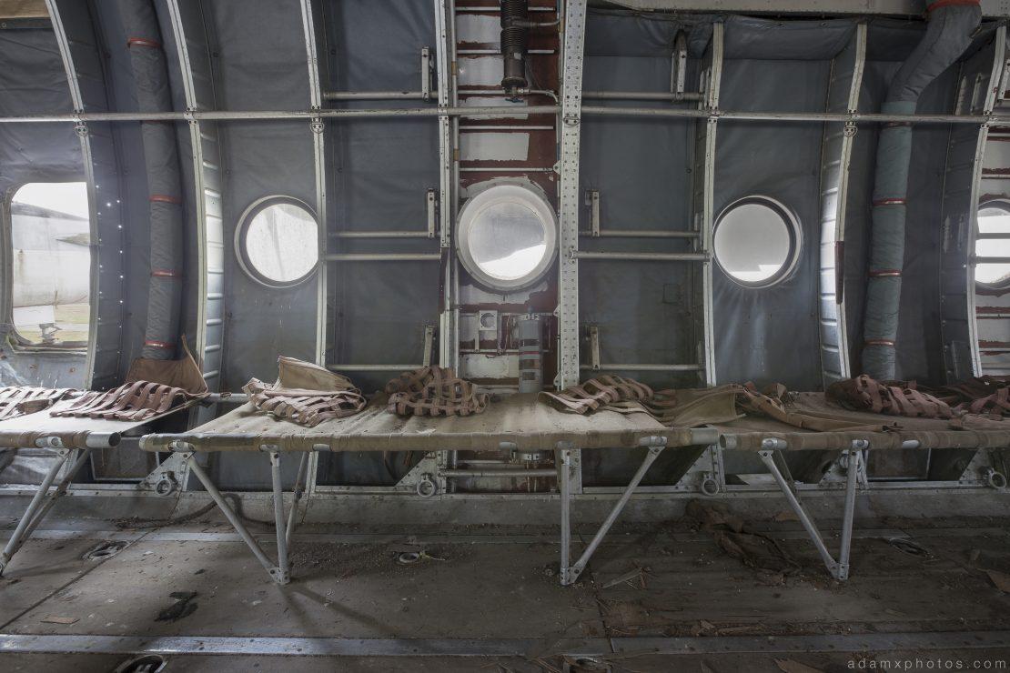 War Planes Nord Noratlas France Urbex Adam X Urban Exploration 2015 Abandoned decay lost forgotten derelict