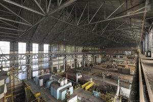 Turbine Hall from the gantry high up The Blue Power Plant Station Belgium Belgie Industrial Industry infiltration Urbex Adam X Urban Exploration 2015 Abandoned decay lost forgotten derelict
