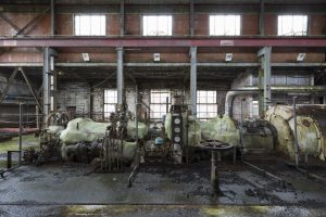 turbine and generator Lostock Power Station Plant Northwich Industrial Industry infiltration Urbex Adam X Urban Exploration 2015 Abandoned decay lost forgotten derelict