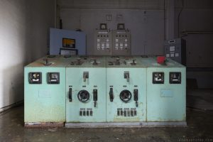 Control panel Lostock Power Station Plant Northwich Industrial Industry infiltration Urbex Adam X Urban Exploration 2015 Abandoned decay lost forgotten derelict