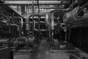 Basement black and white b&w pipes pipe porn Lostock Power Station Plant Northwich Industrial Industry infiltration Urbex Adam X Urban Exploration 2015 Abandoned decay lost forgotten derelict