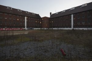 Outside exterior grounds Prison H19 Germany Deutschland Urbex Adam X Urban Exploration Access 2016 Abandoned decay lost forgotten derelict