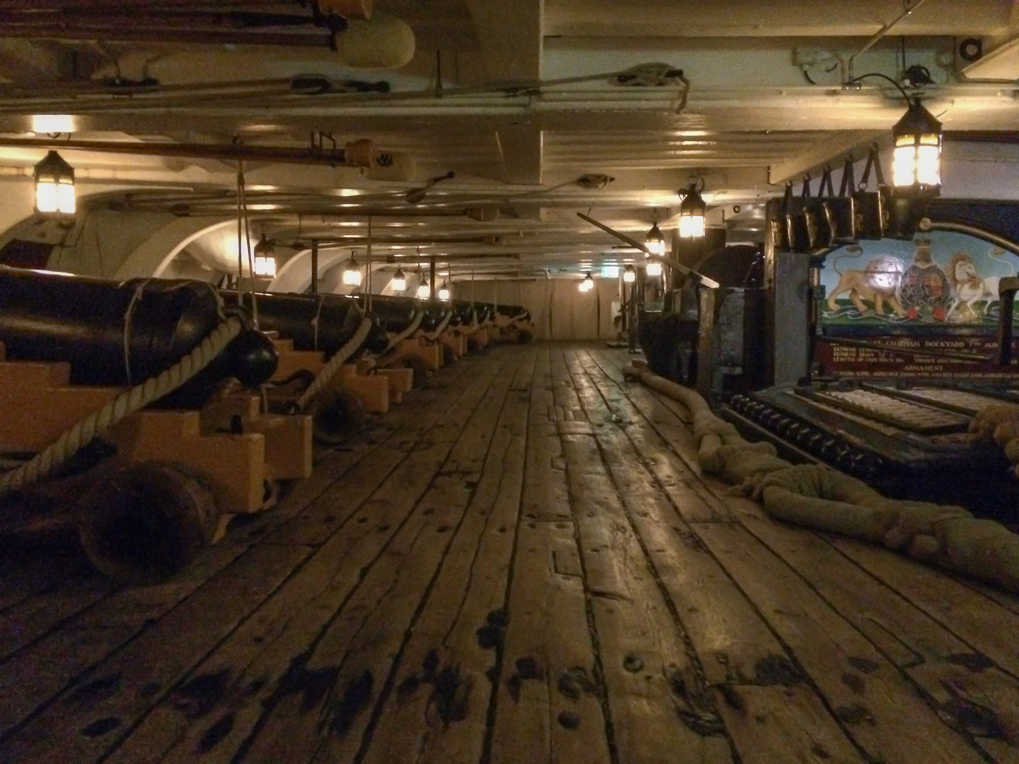 HMS Victory Portsmouth Urbex Adam X For the ultimate victory cannon deck infiltration