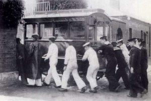Royal Hospital Haslar old photos photographs tramway ambulance tram