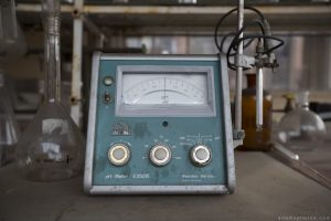 ph meter lab laboratory Usine S Belgium Textile Wool Factory Urbex Adam X Urban Exploration Access 2016 Abandoned decay lost forgotten derelict