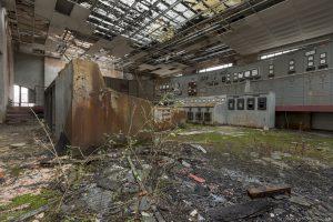 Control Room Powerplant Puits Simon II (PS II) decay Urbex Adam X Urban Exploration Access 2016 Abandoned decay lost forgotten derelict location