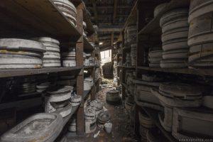Faiencerie S Poterie S Poterie DGM Urbex Pottery ceramics ceramic factory France Adam X Urban Exploration Access 2016 Abandoned decay lost forgotten derelict location