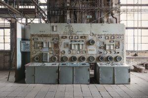 Kessel Boiler Controls Kraftwerk Plessa Urbex Powerplant Germany Adam X Urban Exploration Access 2016 Abandoned decay lost forgotten derelict location