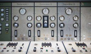 Control room generator dials controls Kraftwerk Plessa Urbex Powerplant Germany Adam X Urban Exploration Access 2016 Abandoned decay lost forgotten derelict location