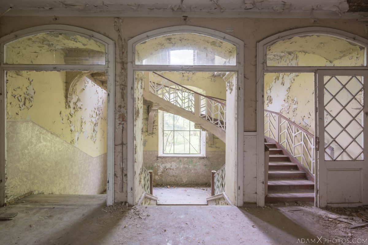 Nice Stairs Villa Mansion Urbex Poland Adam X Urban Exploration Access 2016 Abandoned decay lost forgotten derelict location haunting eerie