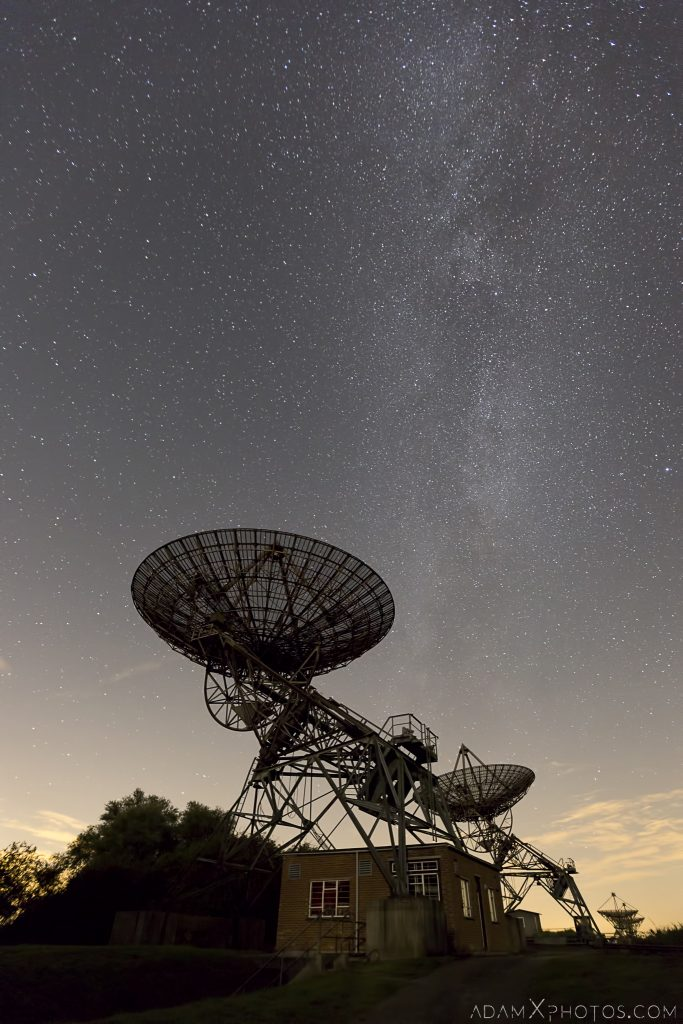 one mile half mile telescope telescopes Satellite Antenna Antennae night photography night time milky way stars astrophotgraphy Mullard Radio Astronomy Observatory Cambridge UK Urbex Adam X Urban Exploration Access 2016 Abandoned decay lost forgotten derelict location haunting eerie