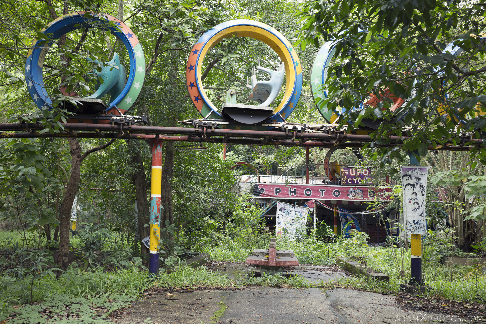 Happy World Theme Park Amusement Park Fairground Myanmar Burma Yangon Rangoon Urbex Adam X Urban Exploration Access 2016 Abandoned decay lost forgotten derelict location creepy haunting eerie