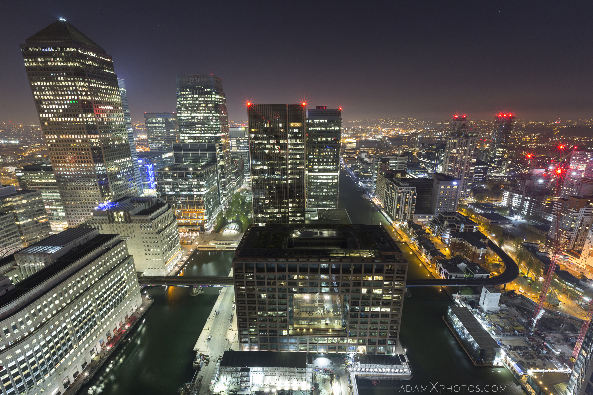 Canary Wharf Rooftop Rooftopping London Urbex High Adam X Urban Exploration Access 2017 Abandoned decay lost forgotten derelict location dangerous night nightttime