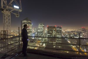 Selfie Rooftop Rooftopping London Urbex High Adam X Urban Exploration Access 2017 Abandoned decay lost forgotten derelict location dangerous night nightttime
