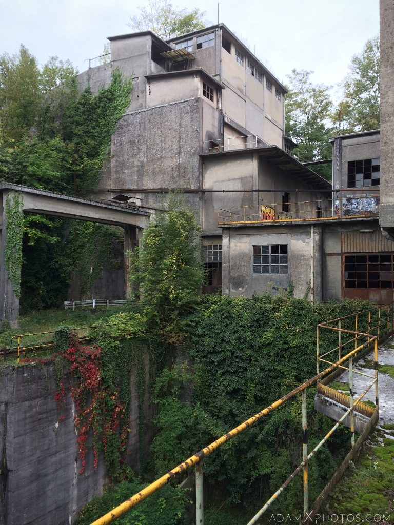 external outside Circle Industry Cement factory industrial industy Adam X Urban Exploration Italy Italia Access 2016 Abandoned decay lost forgotten derelict location creepy haunting eerie