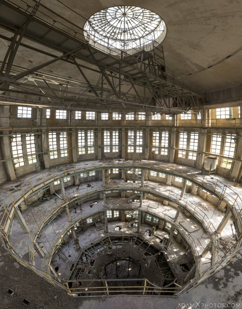 Panorama Panoramic Oculus Tower Italy Italia Industrial distillery Urbex Adam X Urban Exploration Access 2016 Abandoned decay lost forgotten Secca Security infiltration derelict location haunting eerie