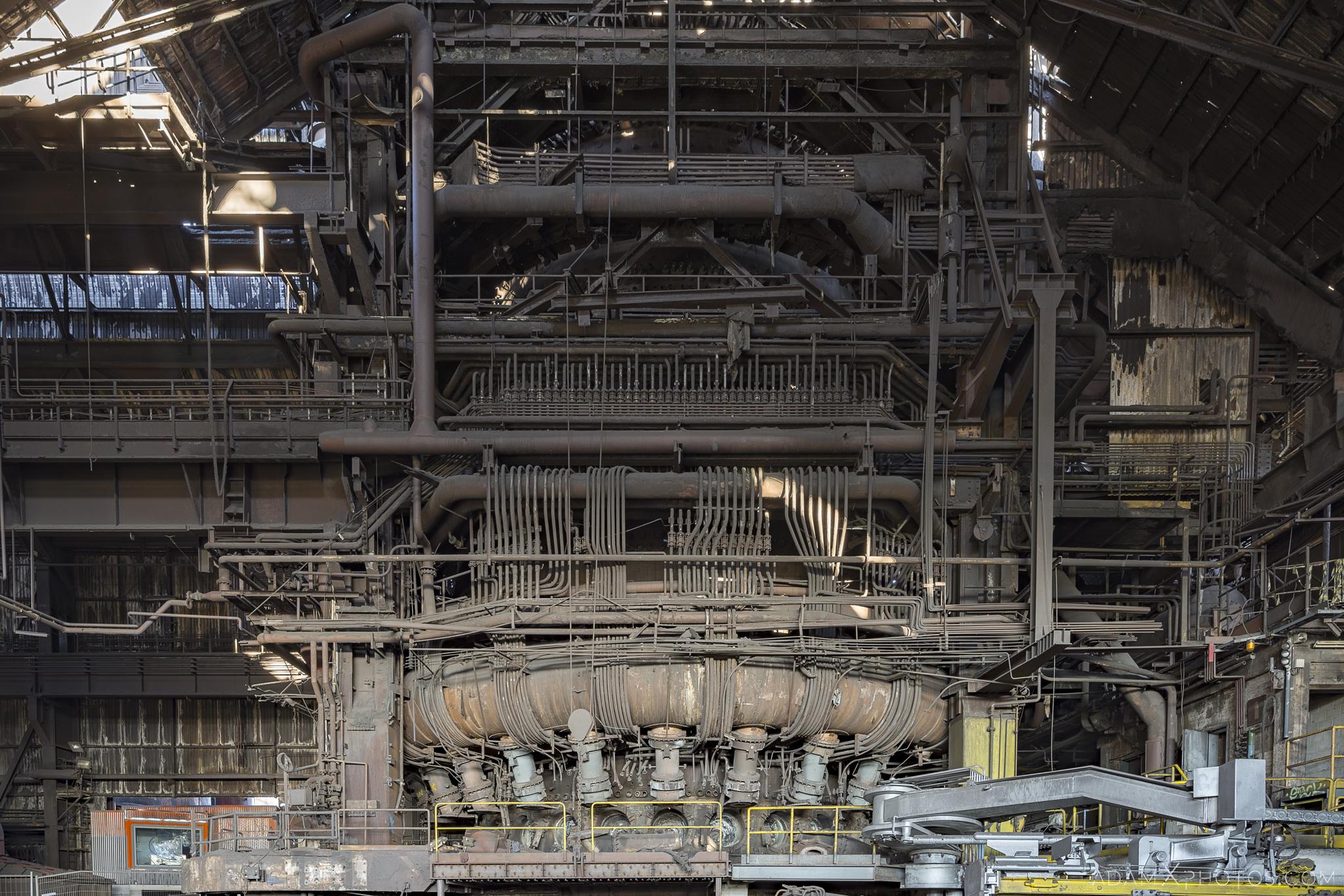 Haut Fourneau B HFB Blast Furnace Steelworks Adam X Urban Exploration Belgium Access 2017 Abandoned decay lost forgotten derelict location creepy haunting eerie