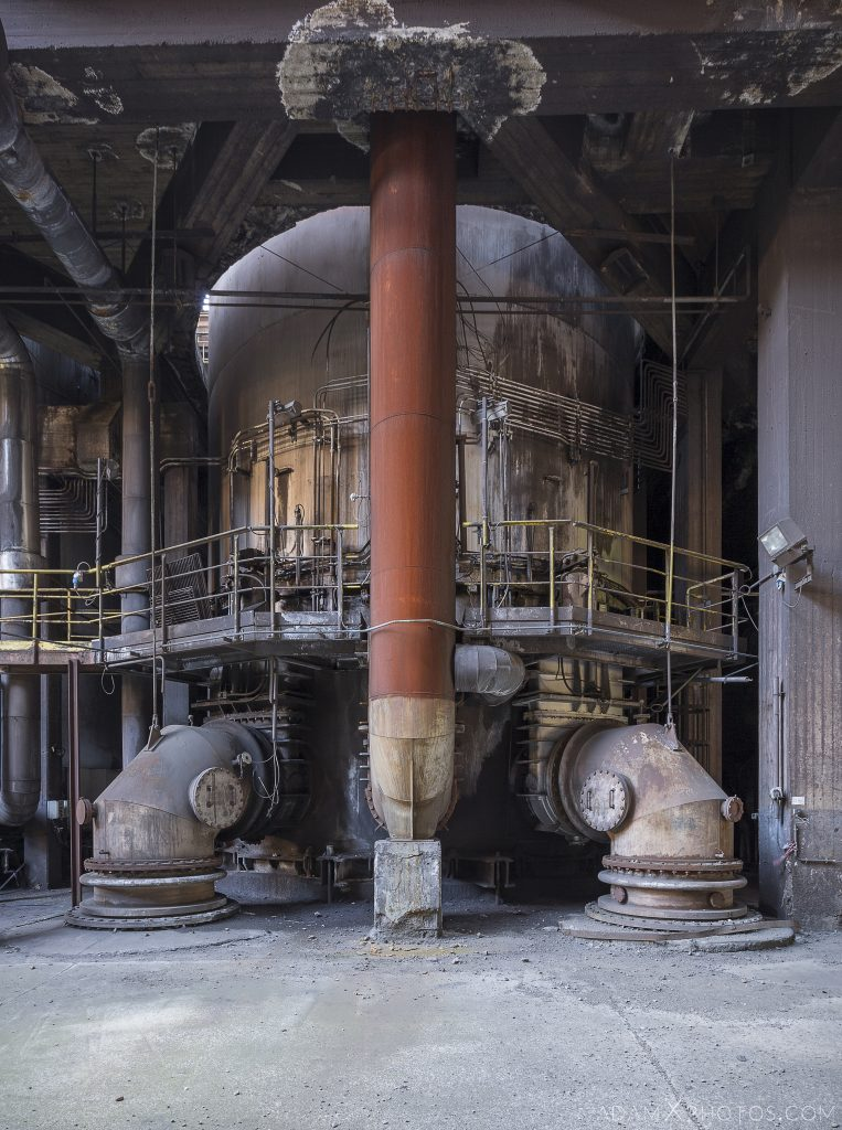 The Rhino Haut Fourneau B HFB Blast Furnace Steelworks Adam X Urban Exploration Belgium Access 2017 Abandoned decay lost forgotten derelict location creepy haunting eerie