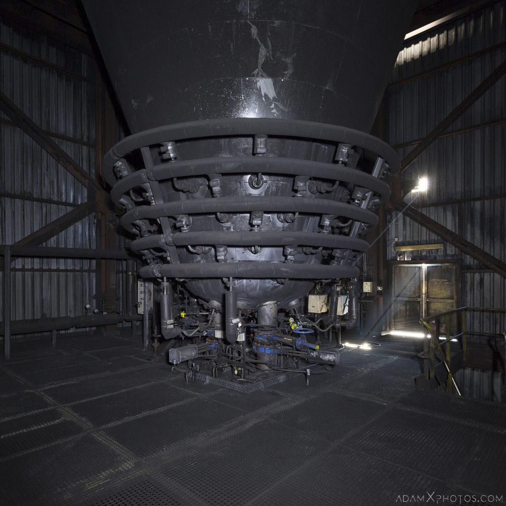 Pulverised coal injection unit Haut Fourneau B HFB Blast Furnace Steelworks Adam X Urban Exploration Belgium Access 2017 Abandoned decay lost forgotten derelict location creepy haunting eerie