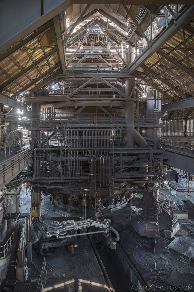Haut Fourneau B HFB Blast Furnace Steelworks Adam X Urban Exploration Belgium Access 2017 Abandoned decay lost forgotten derelict location creepy haunting eerie