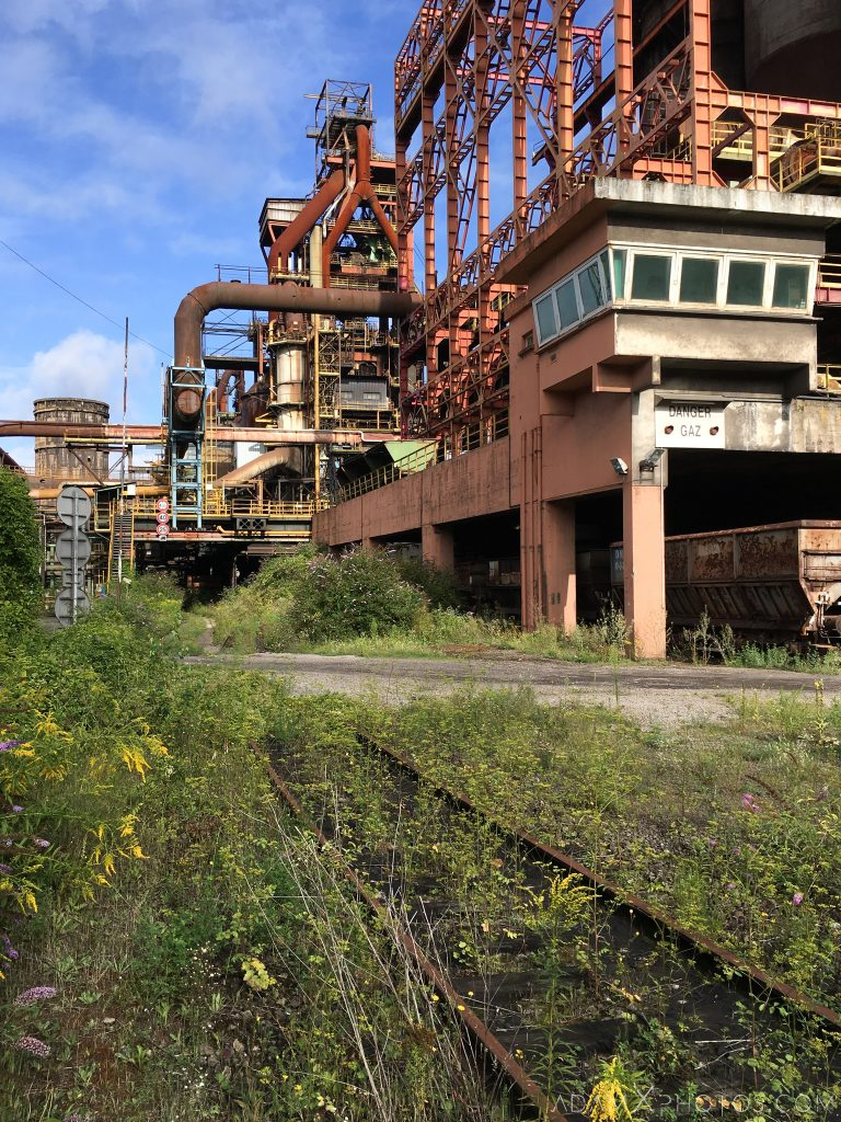 Blast furnace exterior HFX Florange Hayange ArcelorMittal blast furnaces steel works plant Industrial Industry Adam X Urbex Urban Exploration France Access 2017 Abandoned decay lost forgotten derelict location creepy haunting eerie