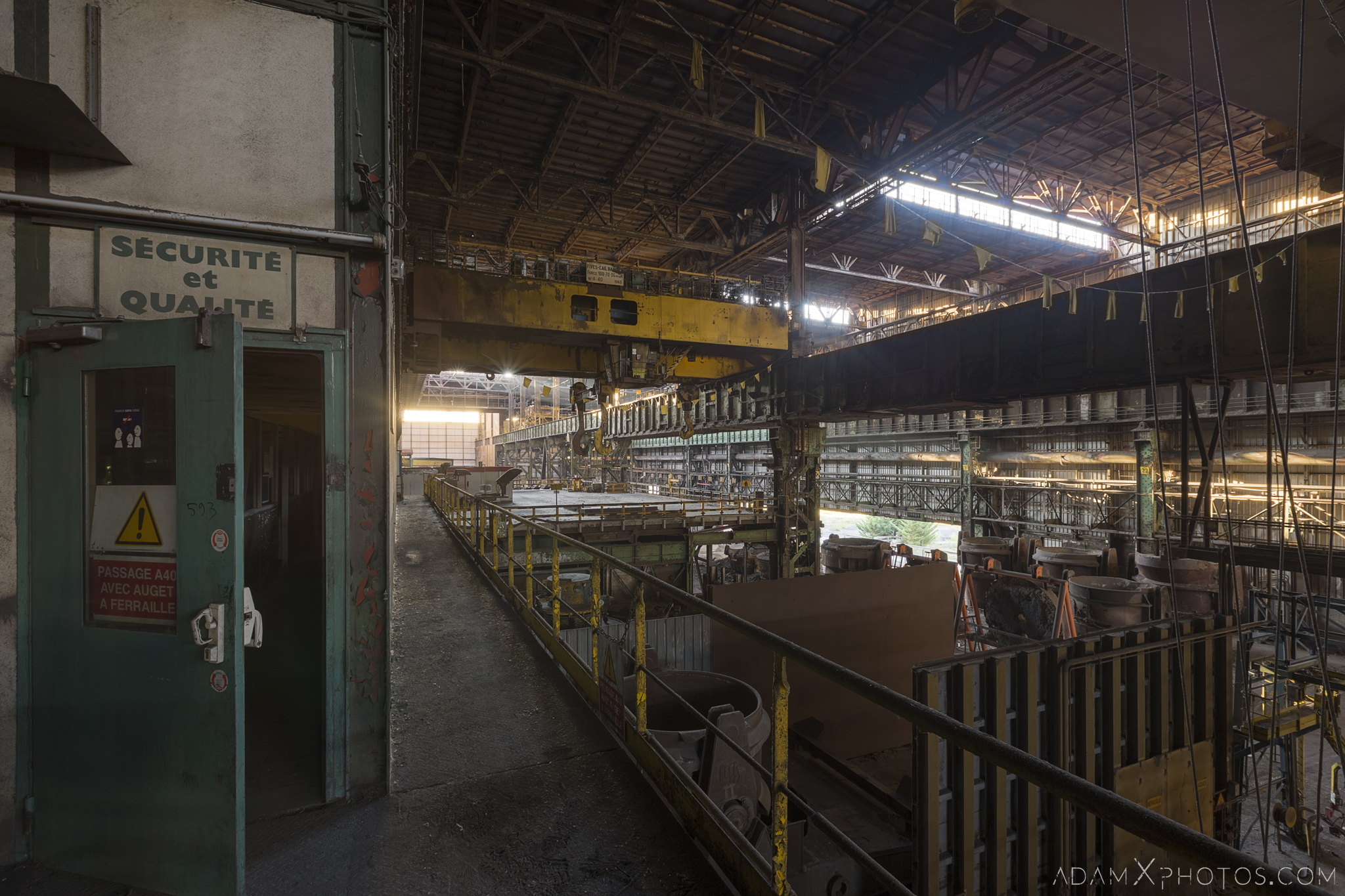 steel works overview HFX Florange Hayange ArcelorMittal blast furnaces steel works plant Industrial Industry Adam X Urbex Urban Exploration France Access 2017 Abandoned decay lost forgotten derelict location creepy haunting eerie