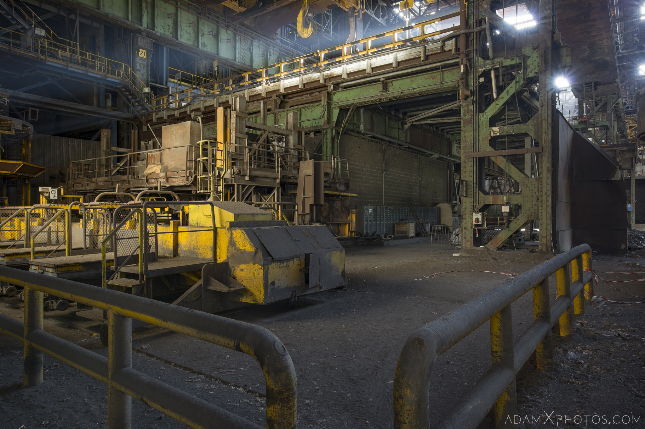 steel works HFX Florange Hayange ArcelorMittal blast furnaces steel works plant Industrial Industry Adam X Urbex Urban Exploration France Access 2017 Abandoned decay lost forgotten derelict location creepy haunting eerie