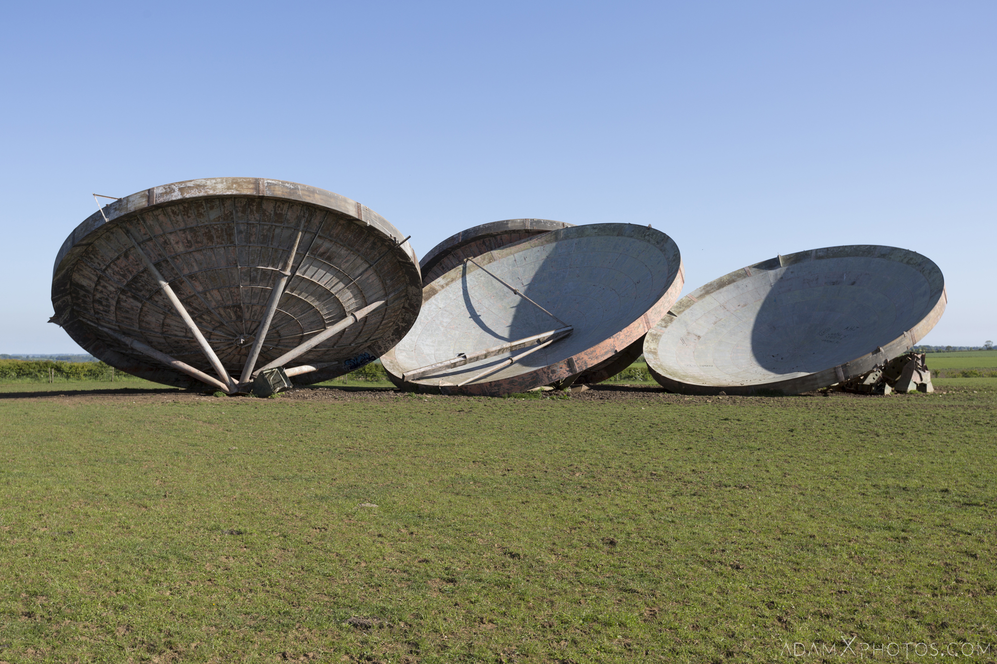 RAF Stenigot Lincolnshire Tropospheric scatter radar dishes Adam X Urbex Urban Exploration Access 2018 Abandoned decay lost forgotten derelict location creepy haunting eerie