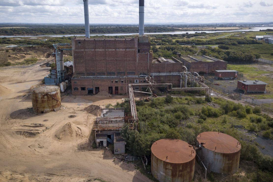 Drone Mavic Pro Aerial from above Ardeer Power Station ICI Nobel Scotland Adam X Urbex Urban Exploration Access 2018 Abandoned decay ruins lost forgotten derelict location creepy haunting eerie
