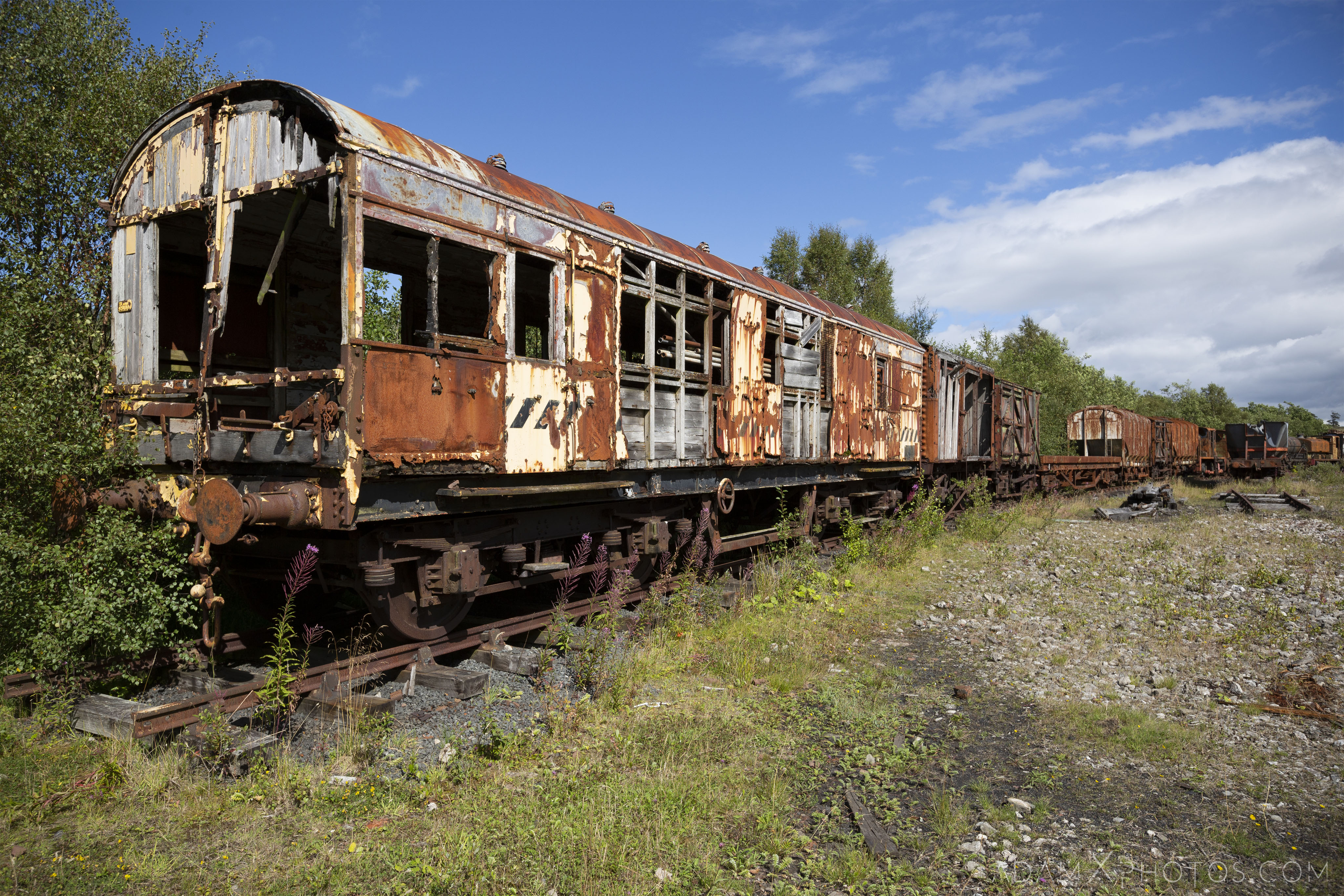 Carriages overgrown Abandoned Trains Waterside Dunaskin Adam X Urbex Urban Exploration Access 2018 Abandoned decay lost forgotten derelict location creepy haunting eerie