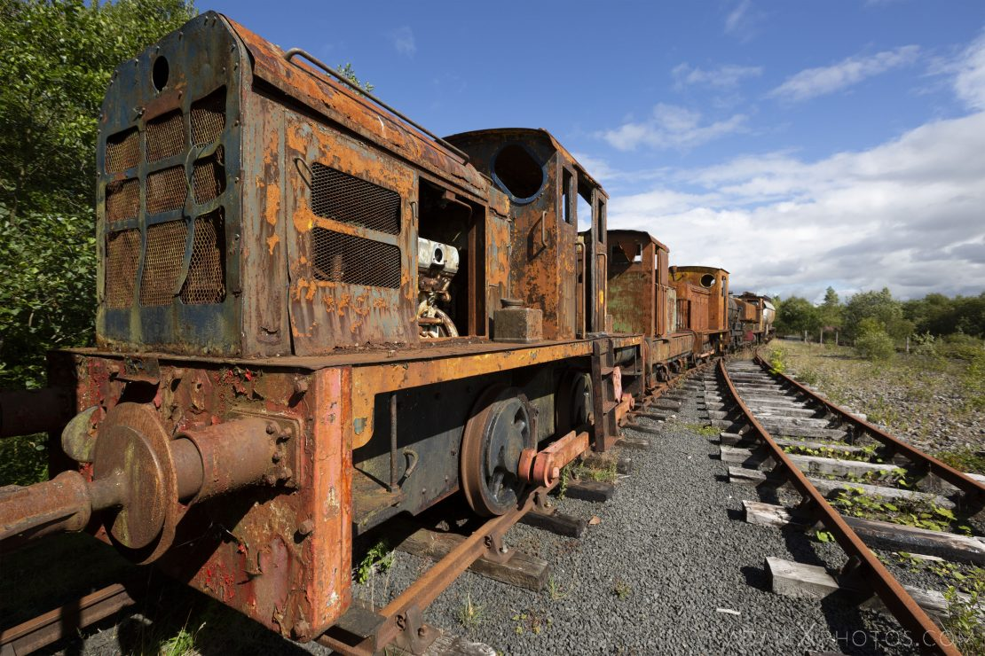 rusting freight train Abandoned Trains Waterside Dunaskin Adam X Urbex Urban Exploration Access 2018 Abandoned decay lost forgotten derelict location creepy haunting eerie