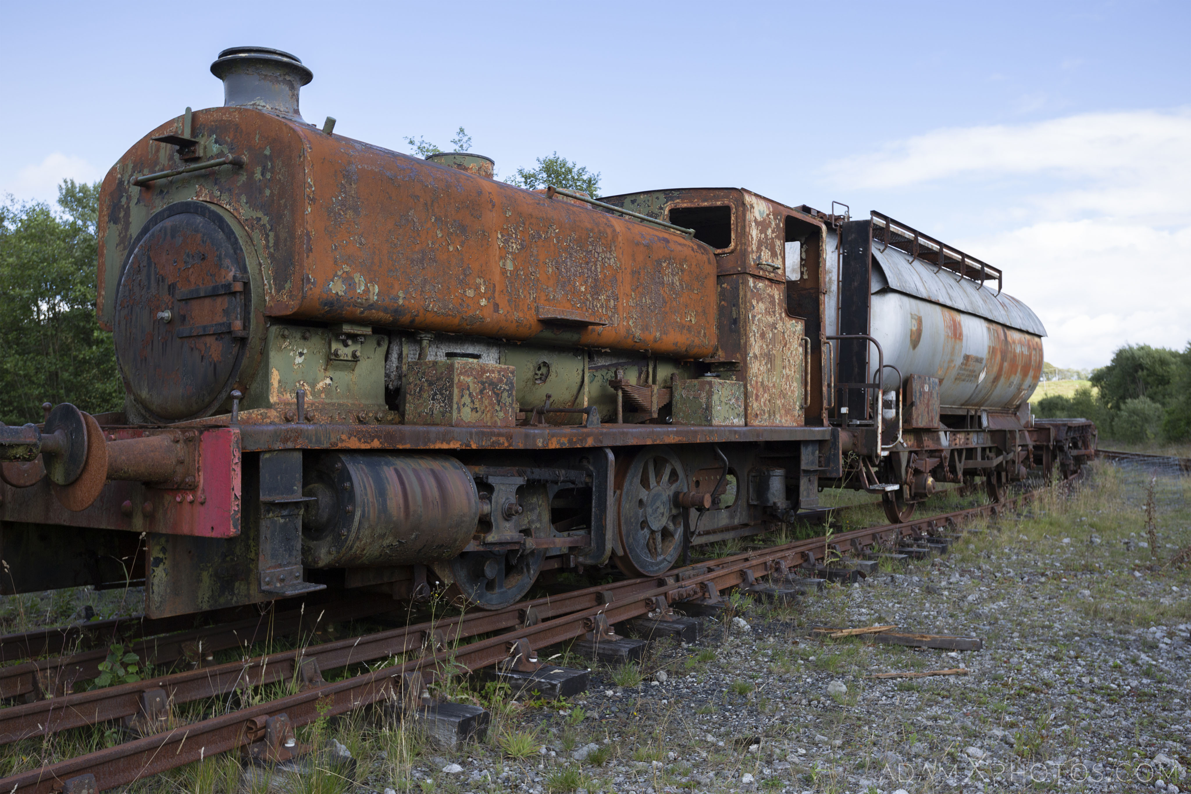 Abandoned Trains Waterside Dunaskin Adam X Urbex Urban Exploration Access 2018 Abandoned decay lost forgotten derelict location creepy haunting eerie