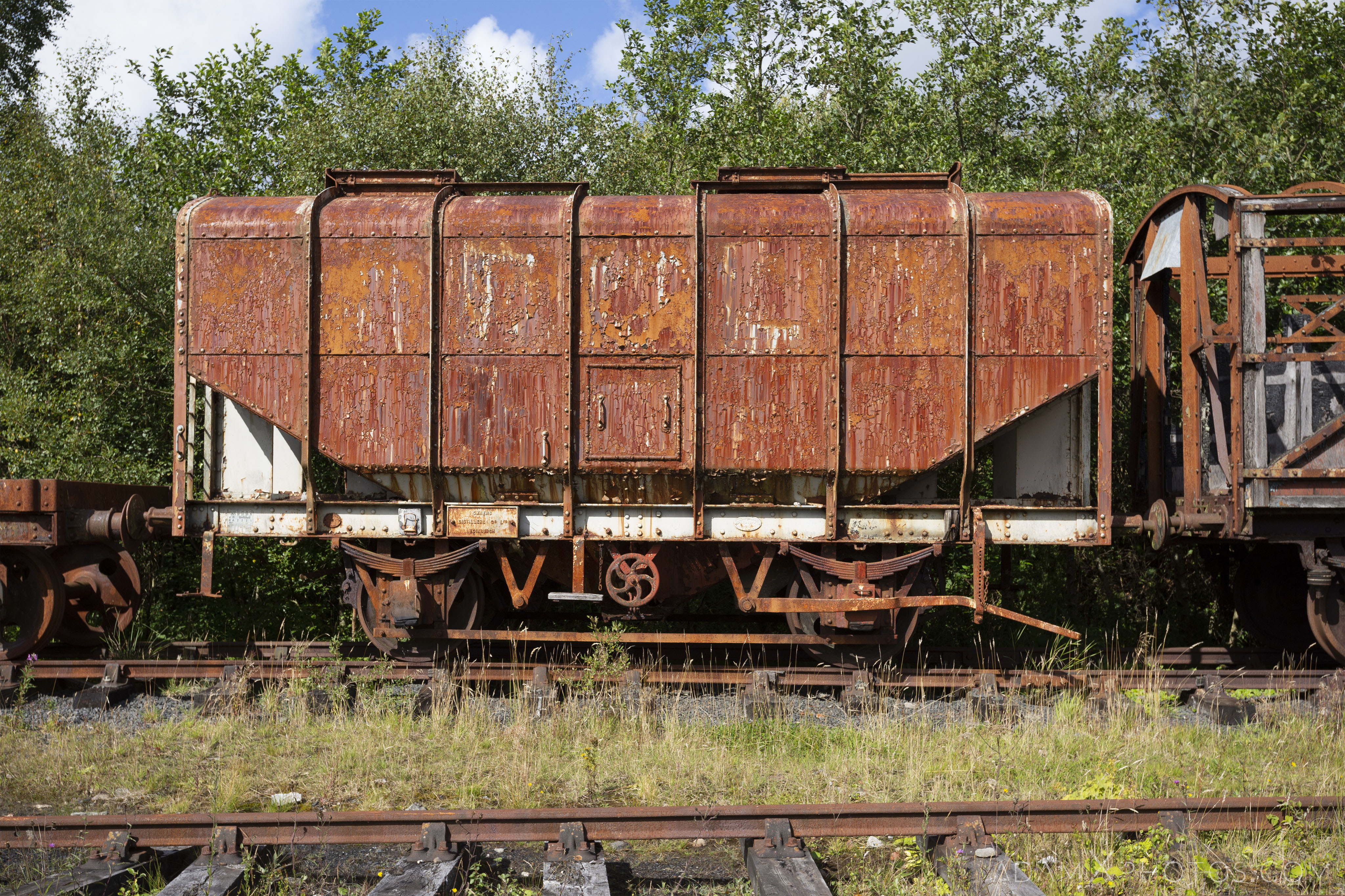 freight carriage Abandoned Trains Waterside Dunaskin Adam X Urbex Urban Exploration Access 2018 Abandoned decay lost forgotten derelict location creepy haunting eerie