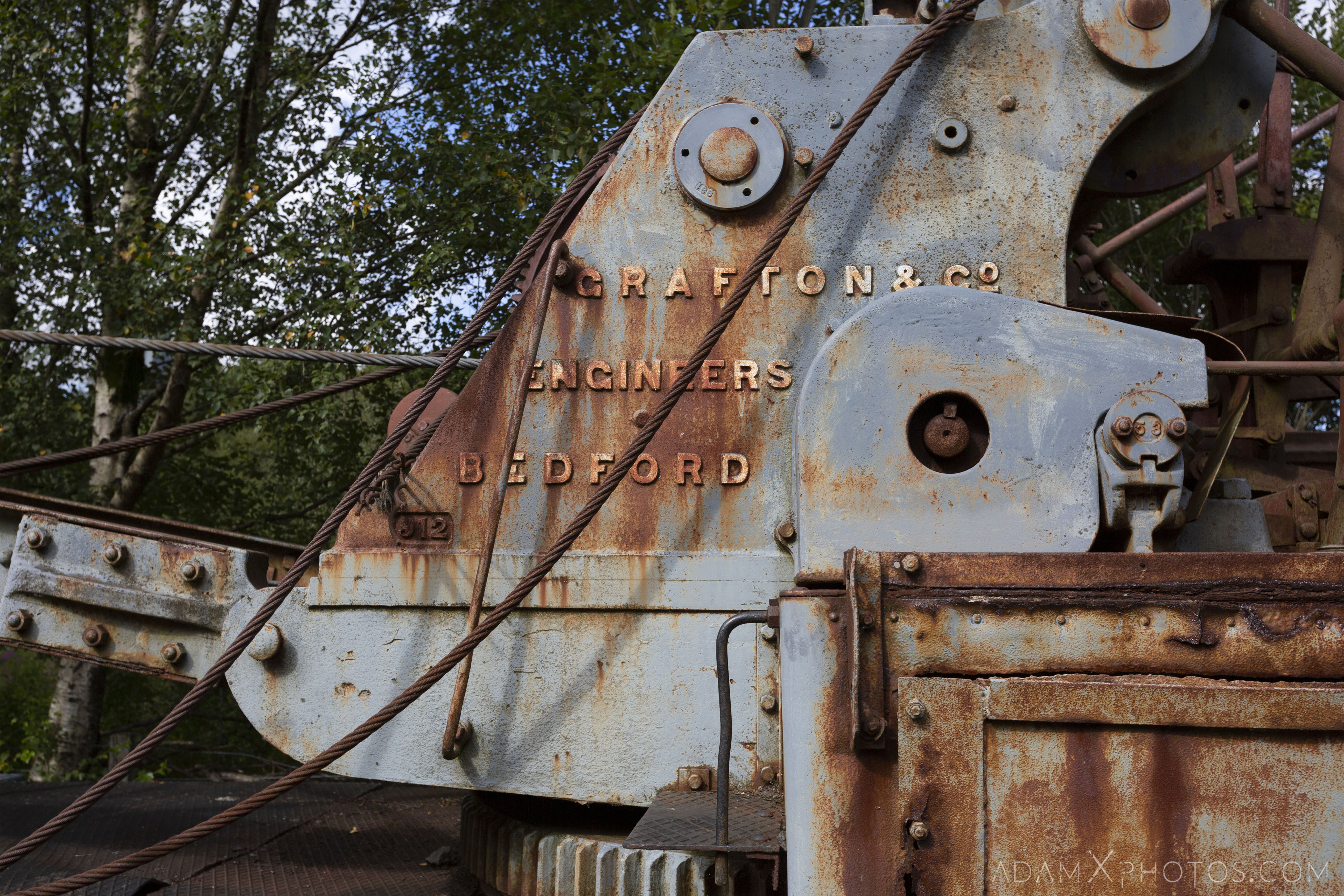 Grafton & Co engineers bedford Abandoned Trains Waterside Dunaskin Adam X Urbex Urban Exploration Access 2018 Abandoned decay lost forgotten derelict location creepy haunting eerie