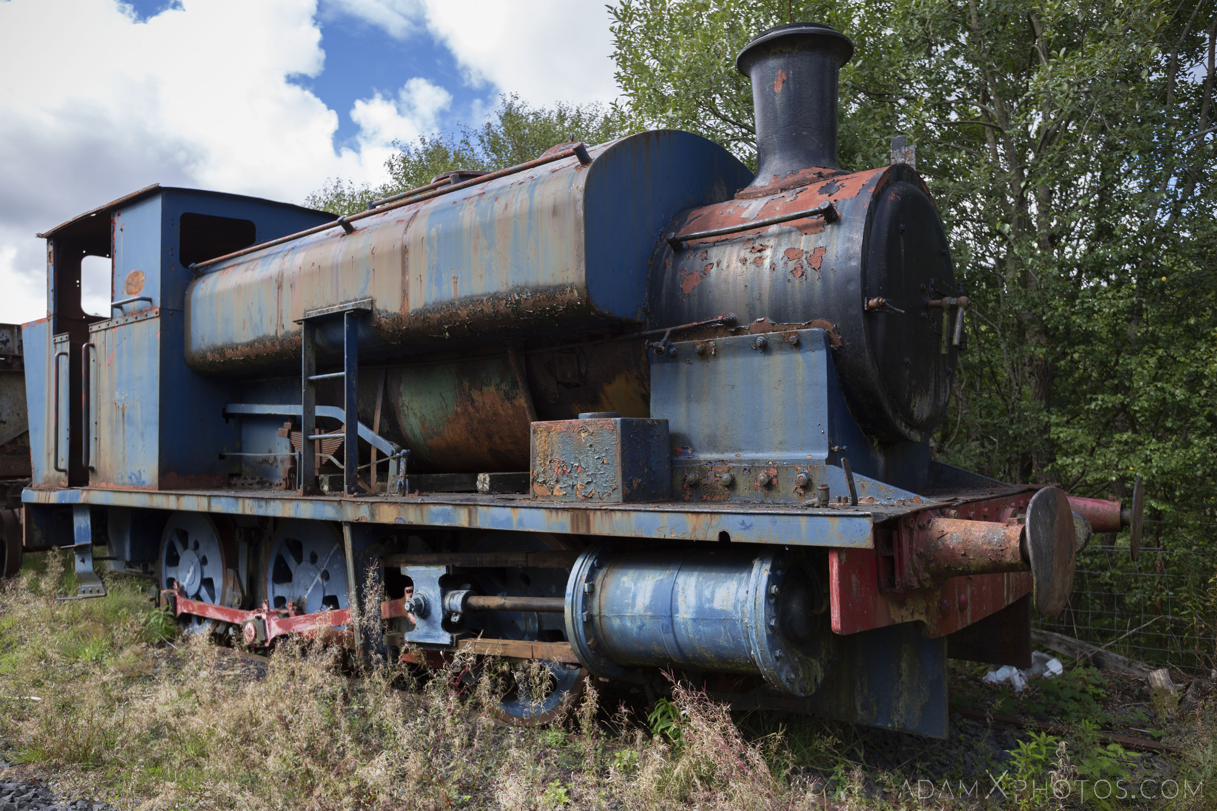 Thomas the tank engine Abandoned Trains Waterside Dunaskin Adam X Urbex Urban Exploration Access 2018 Abandoned decay lost forgotten derelict location creepy haunting eerie