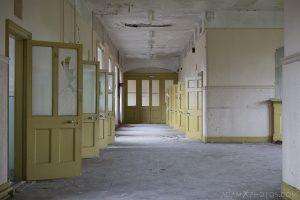 Corridor Sunnyside Royal Hospital Montrose Scotland Adam X Urbex Urban Exploration Access 2018 Abandoned decay ruins lost forgotten derelict location creepy haunting eerie